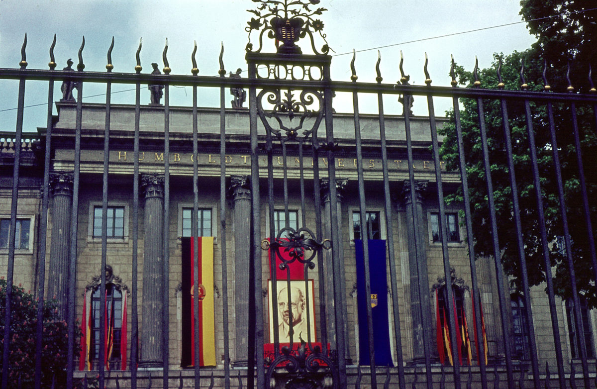 Die Berliner Humboldt-Universität im Jahr 1964 Studium in der DDR