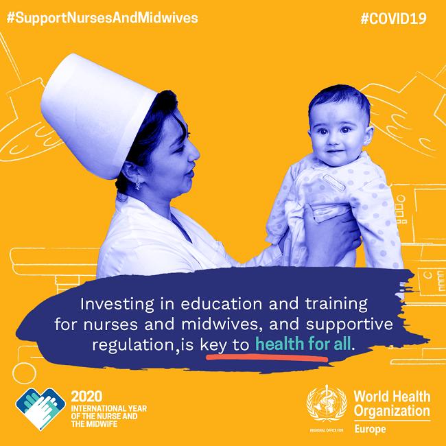weiteres Kampagnenposter der Weltgesundheitsorganisation zum Weltgesundheitstag