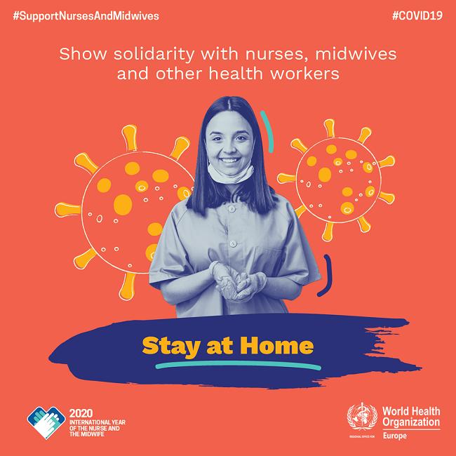 Kampagnenposter der Weltgesundheitsorganisation zum Weltgesundheitstag